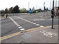 SE2534 : Tiger Crossing, Henconner Lane, Bramley by Stephen Craven