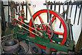 SJ8333 : Mill Meece Pumping Station - workshop engine by Chris Allen