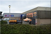 SW4831 : Halfords and B&M by N Chadwick