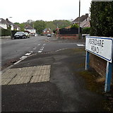 SZ0895 : Northbourne: Aberdare Road by Chris Downer
