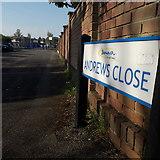 SZ0695 : West Howe: Andrews Close by Chris Downer