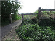 NZ3371 : Entrance onto Public Bridleway, West Monkseaton by Geoff Holland