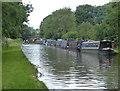 SJ7029 : Narrowboats moored along the Shropshire Union Canal by Mat Fascione