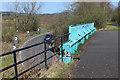 NS3457 : Lochwinnoch Loop Line cycle path by Thomas Nugent