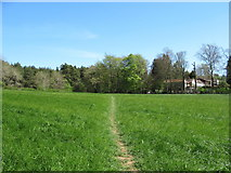 SO9875 : Brown's Way footpath, near Monument Lane, Lickey by Roy Hughes