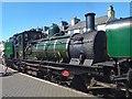 SH5738 : Welsh Highland Railway Locomotive at Porthmadog by Jeff Buck