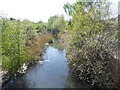 TQ4680 : Drainage ditch at Thamesmead by Marathon
