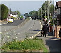 ST3090 : Walking the dog, Malpas Road, Newport by Jaggery