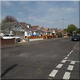SZ0796 : Northbourne: Cedar Avenue by Chris Downer