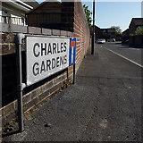 SZ0794 : Ensbury Park: Charles Gardens by Chris Downer