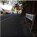 SZ0995 : Muscliff: Cheddington Road by Chris Downer