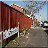 SZ0694 : East Howe: Cherford Road by Chris Downer