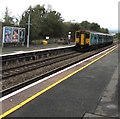 SO4383 : Shrewsbury train departing Craven Arms station by Jaggery