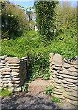 NO3901 : Gate to Retting Pond, Silverburn Park by Bill Kasman