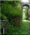 SJ6930 : Shropshire Union Canal milepost next to High Bridge No 57 by Mat Fascione