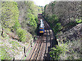 SE2440 : Train south of Bramhope railway tunnel by Stephen Craven