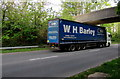 ST2992 : W.H.Barley lorry, Cwmbran Drive, Llantarnam, Cwmbran by Jaggery