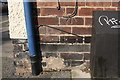 SK5743 : Benchmark on No. 36 Daybrook Street (Woodville Road face) by Luke Shaw