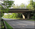 ST2992 : Northwest side of Pentre Lane bridge, Cwmbran by Jaggery