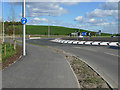NS4469 : Craigmuir roundabout by Thomas Nugent