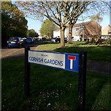 SZ0794 : Ensbury Park: Cornish Gardens by Chris Downer