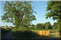 SO5378 : Lane past Yewtree House by Derek Harper