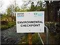 NS5674 : Environmental checkpoint by Richard Sutcliffe
