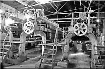SK0305 : Potters Clay & Coal Co, Brownhills - filter presses by Chris Allen