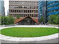 TQ3381 : Aldgate Square and Portsoken Pavilion, City of London by Roger Jones