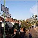 SZ0696 : Bear Cross: Cudnell Avenue by Chris Downer