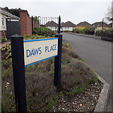 SZ0694 : East Howe: Daws Place by Chris Downer