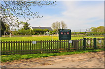 ST8180 : Acton Turville Playing Field, Gloucestershire 2020 by Ray Bird