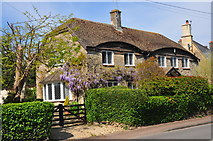 ST8080 : Hunters Lodge, The Street, Acton Turville, Gloucestershire 2020 by Ray Bird