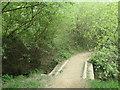 SE3621 : Footbridge on a public footpath north of Kirkthorpe by Christine Johnstone