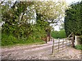 SK3515 : Entrance to Nook Farm, Ashby-de-la-Zouch by Oliver Mills