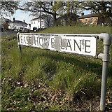 SZ0796 : East Howe: East Howe Lane by Chris Downer