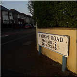 SZ0894 : Ensbury Park: Eldon Road by Chris Downer