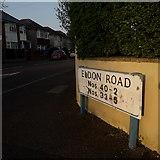 SZ0894 : Ensbury Park: Eldon Road by Chris Downer