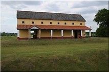 SJ5608 : Replica Villa Urbana, Wroxeter by Philip Halling