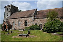 SJ5608 : St Andrew's Church, Wroxeter by Philip Halling