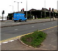 ST3090 : Blue van, Malpas Road, Newport by Jaggery