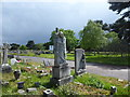 TQ4577 : Grave in Woolwich New Cemetery by Marathon