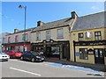 M1242 : Craft  shop  Butchers  and  Bar.  Main  Street.  Oughterand by Martin Dawes