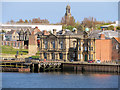 NZ3566 : Former River Police and Mercantile Marine Offices, Mill Dam, South Shields by David Dixon