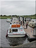 M9625 : River  Shannon  cruise  to  Clonmacnoise  from  Shannonbridge by Martin Dawes