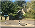 SK3284 : Gateway and entrance lodge at Mylnhurst School by Graham Hogg