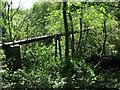 NZ3375 : Pipe Bridge, Holywell Dene by Geoff Holland