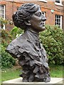SJ4912 : Bust of Mary Webb by Philip Halling