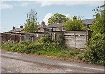 SK3950 : Garages off Cemetery Lane, Ripley by Martin Froggatt