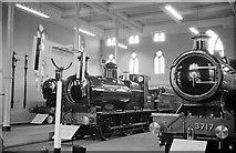 SU1484 : Great Western Railway Museum, Swindon – 1962 by Alan Murray-Rust